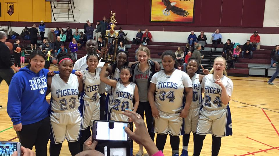 girls win league championship 2016